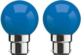 0.5 W B22 LED Bulb (Blue, Pack of 2)