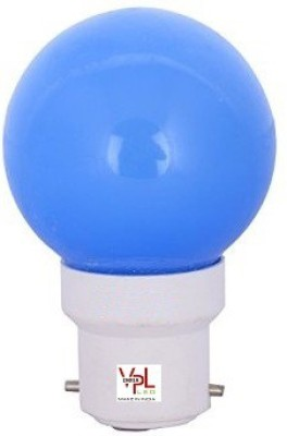 VPL-India-0.5W-Blue-LED-Bulb-(Pack-of-8)