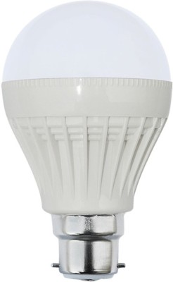5W LED Bulb (White, Pack Of 12)