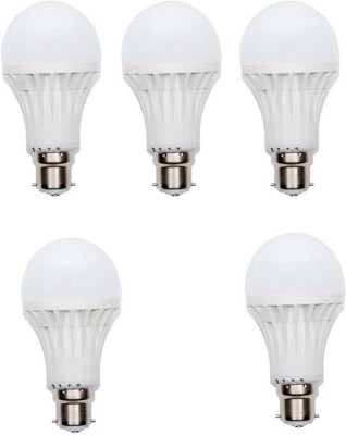 9W 400 lumens Cool Day Ligh LED Bulb (Pack Of 5)