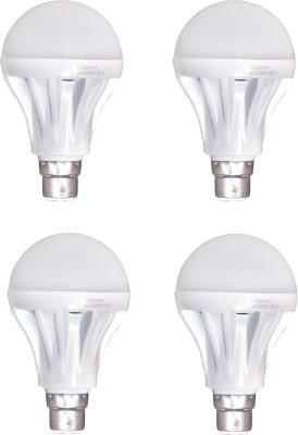 12-W-B22-LED-Bulb-(White,-Pack-of-4)