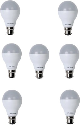 9 Watt LED Bulb (White, Pack of 7)