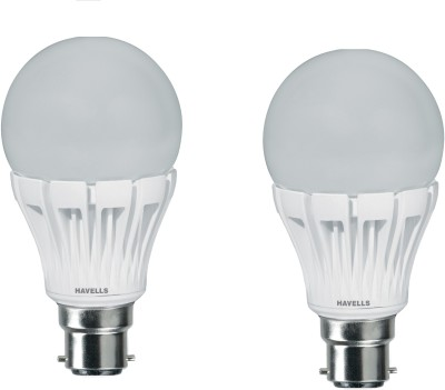 10-W-LED-A60-Lamp-Bulb-B22-White-(pack-of-2)