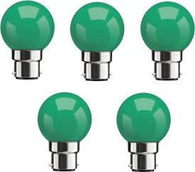0.5W Green LED Bulbs (Pack Of 5)