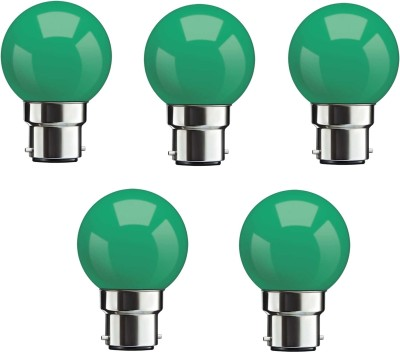 0.5W Green LED Bulbs (Pack Of 5)