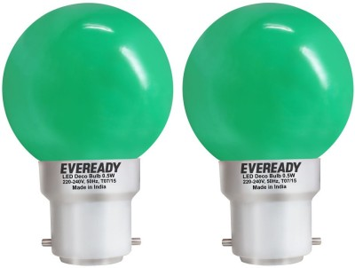 0.5W Green Deco LED Bulb (Pack of 2)