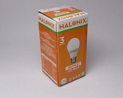 3 W LED Astron Bulb B22 Yellow
