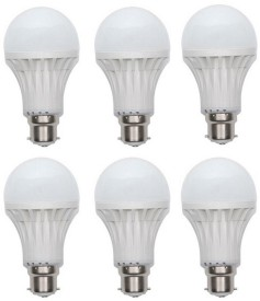 3-W-LED-Bulb-(White,-Pack-of-6)