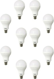 7 W LED Bulb Cool White (Pack of 10)