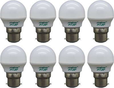 Premium 0.5W Night Lamp LED Light (Multicolor, Pack of 8)
