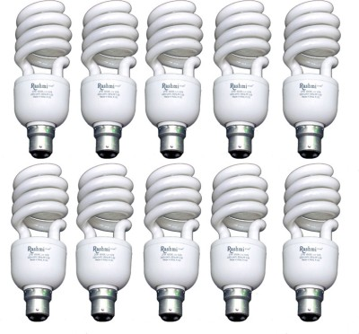 27-W-SP-Lamp-B22-Cap-CFL-Bulb-(Cool-Day-Light,-Pack-of-10)
