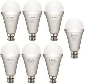 5 W 11027 LED ECO Spiral Bulb B22 Cool White (pack of 7)