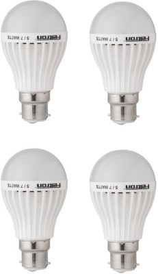 5W LED Bulbs (Cool White,Pack of 4)