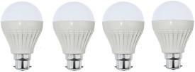 3W LED Bulb (White, Pack of 4)