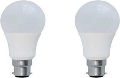 7W White Glass LED Bulbs (Pack Of 2)