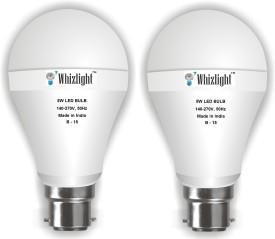 IC Based Energy Saving 5 W White LED Bulb (Pack of 2)