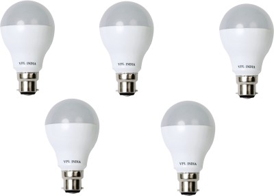 5W Warm White LED Bulb (Pack of 5)
