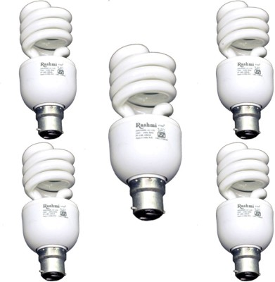 15-W-SP-Lamp-B22-Cap-CFL-Bulb-(Cool-Day-Light,-Pack-of-5)