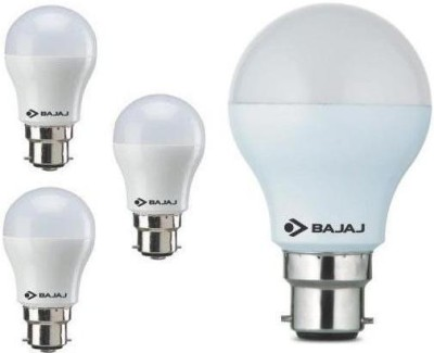3 W, 7 W LED Bulb B22 White (pack of 4)