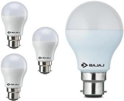 3 W, 7 W LED Bulb B22 White (pack of 4)
