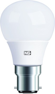 6W B22 Warm White LED Bulb