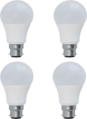 5W LED Bulbs (White, Pack of 4)