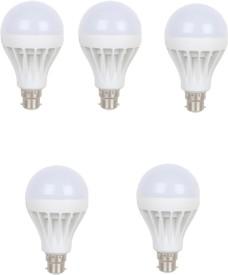 Viyasha 15 W LED Energy Saving(Pack of 5) Bulb