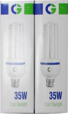 Greaves 35 W CFL Bulb (Cool Daylight, Pack of 2)