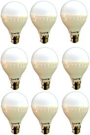 7W-B22-LED-Bulb-(White)-[Pack-of-9]
