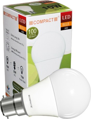 10W B22 LED Bulb (Cool White)