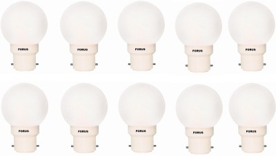 0.5W FLZW22PL LED Bulb (White, Pack of 10)