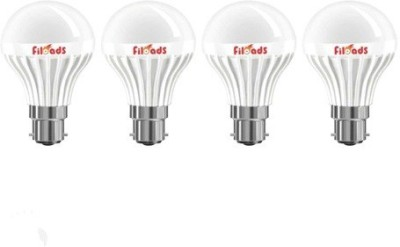 Filoads-5W-B22-LED-Bulb-(White,-Set-of-4)