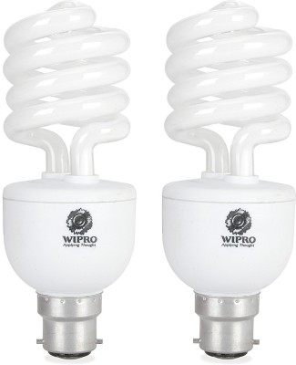 Twister Duos 23 Watt CFL Bulb (Cool Day Light,Pack of 2)