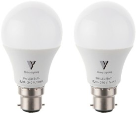 Victory Lighting 9W White LED Bulb(Pack of 2)