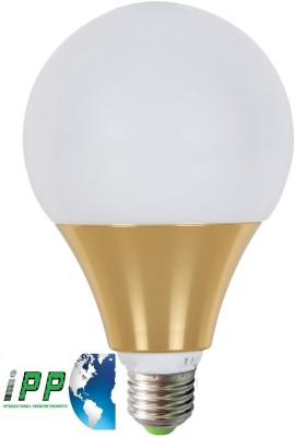12W E27 Aluminium Body White LED Bulb