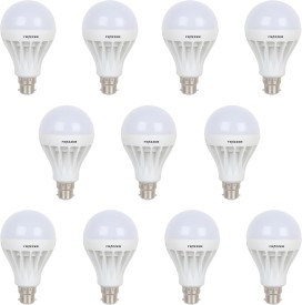 15W White LED Bulbs (Pack Of 11)