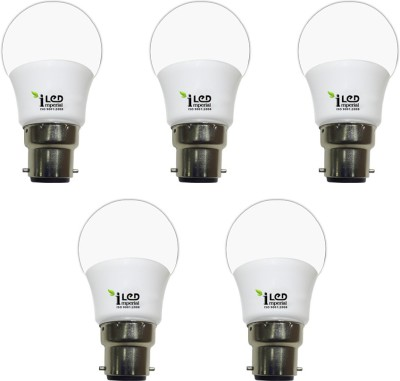 3W-CW-BC22-3580-LED-Premium-Bulb-(White,-Pack-of-5)-
