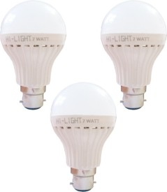7W-B22-LED-Bulb-(White,-Set-of-3)