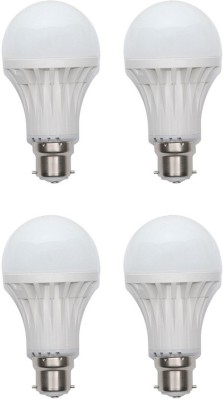 Harit-Energy-5W-B22-LED-Bulb-(White,-Set-of-4)