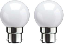 0.5 W B22 LED Bulb (White, pack of 2)