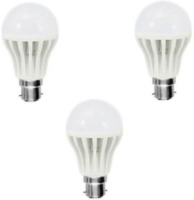 12 W LED Bulb (White, Pack of 3)