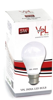 5W-Warm-White-LED-Bulb-(Pack-of-3)