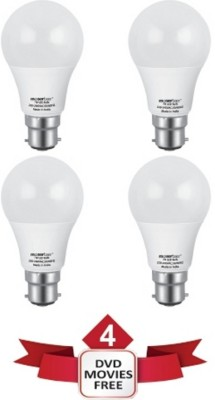 7 W LED Ecolux 6500K lumen 560 Cool DayLight Bulb B22 White (pack of 4)