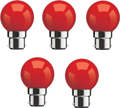 0.5W Red LED Bulb (Pack Of 5)