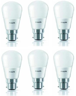 4W-350L-LED-Bulb-(White,-Pack-of-6)