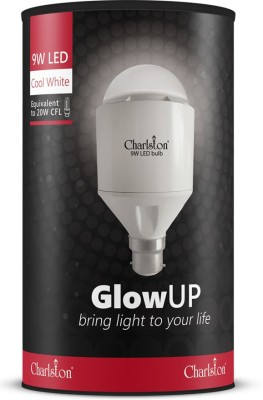 9W B22 GlowUp LED Bulb (Cool White Light)