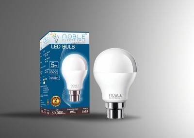 5W-B22-Cool-White-LED-Bulb-(Aluminium)