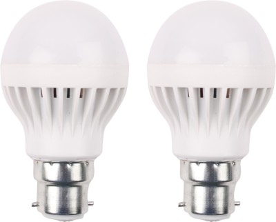 3W 460 Lumens White Eco LED Bulbs (Pack Of 2)