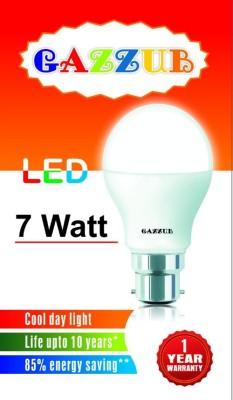 Gazzub-7W-B22-LED-Bulb-(White)
