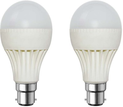 9W-Plastic-Body-White-LED-Bulb-(Pack-of-2)